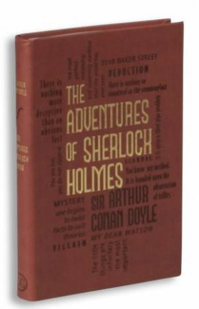 Word Cloud Classics: The Adventures of Sherlock Holmes