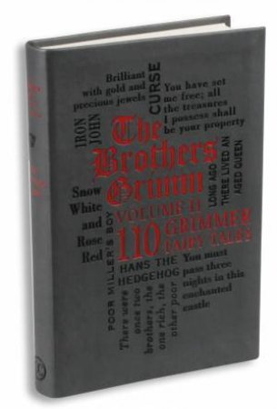 Word Cloud Classics: Brothers Grimm 02 - 110 Even Grimmer Fairy Tales by Jacob Ludwig Carl Grimm & Wilhelm  Grimm
