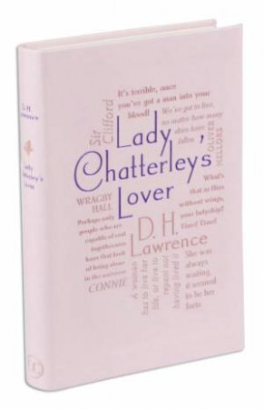 Word Cloud Classics: Lady Chatterley's Lover by D H Lawrence