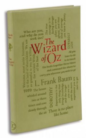 Word Cloud Classics: The Wizard of Oz by L Frank Baum