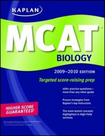 Kaplan Mcat Biology by Kaplan Kaplan - 9781607146438 - QBD Books