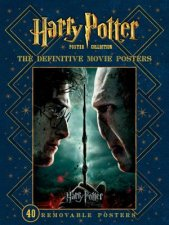 Harry Potter Poster Collection The Definitive Movie Posters