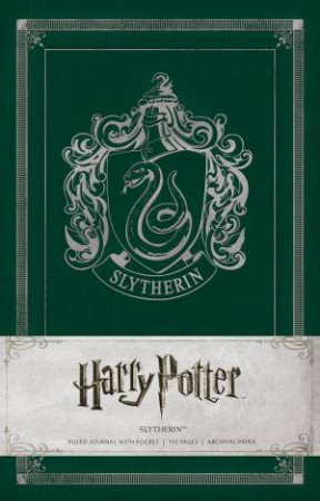 Harry Potter Slytherin Hardcover Ruled Journal by Various