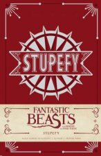 Fantastic Beasts and Where to Find Them Stupefy Hardcover Ruled Journal