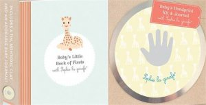 Baby's Handprint Kit And Journal With Sophie La Girafe