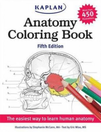Anatomy Coloring Book by Stephanie McCann - 9781618655981