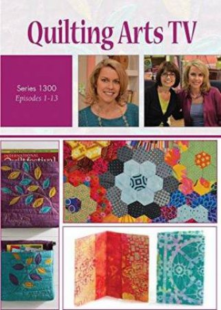 Quilting Arts TV series 1300 4-Disc DVD set by PATRICIA BOLTON