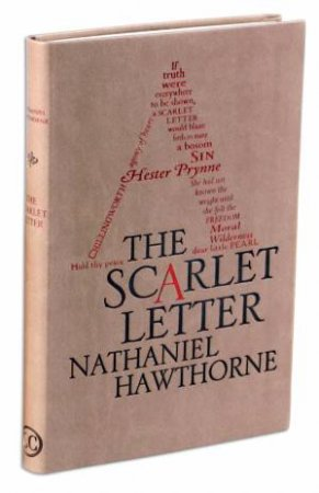 Word Cloud Classics: The Scarlet Letter by Nathaniel Hawthorne