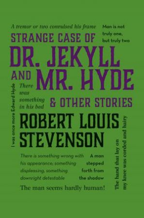 Word Cloud Classics: Strange Case of Dr. Jekyll and Mr. Hyde & Other Stories by Robert Louis Stevenson