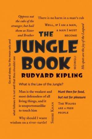 Word Cloud Classics: Jungle Book by Rudyard Kipling