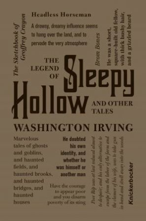 Word Cloud Classics: The Legend of Sleepy Hollow and Other Tales by Washington Irving