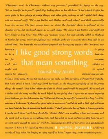 A Novel Journal: Little Women by Louisa May Alcott - 9781626865198 - QBD  Books