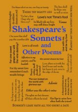 Word Cloud Classics Shakespeares Sonnets And Other Poems