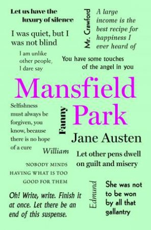 Word Cloud Classics: Mansfield Park