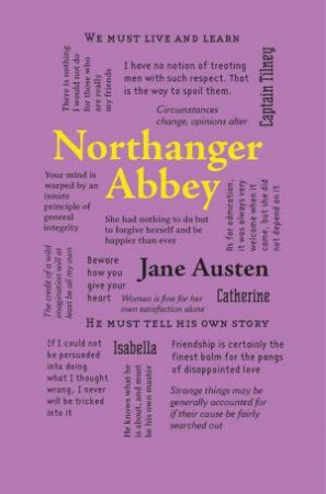 Word Cloud Classics: Northanger Abbey