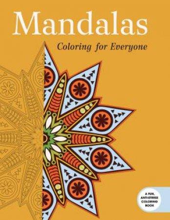 Mandalas Coloring For Everyone