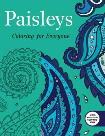 Paisleys Coloring For Everyone