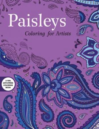 Paisleys Coloring For Artists