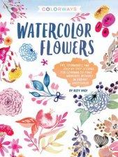 Watercolor Flowers Colorways