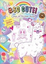 SoCute ColorIn Stickers