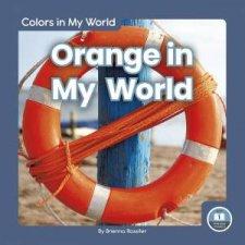 Colors in My World Orange in My World