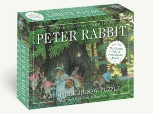 The Classic Tale Of Peter Rabbit 200-Piece Jigsaw Puzzle & Book