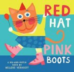Red Hat Pink Boots