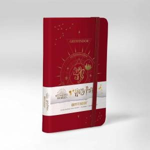 Harry Potter: Gryffindor Constellation Ruled Pocket Journal by Various