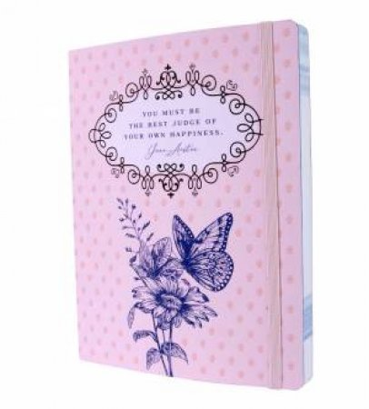 Jane Austen: Best Judge of Your Own Happiness Softcover Notebook by Various