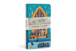 Harry Potter: Exploring Hogwarts Sewn Notebook Collection (Set of 3) by Various