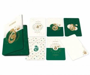 Harry Potter: Slytherin Constellation Postcard Tin Set (Set Of 20) by Various