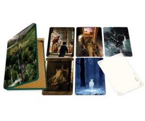 Harry Potter: Hogwarts Concept Art Postcard Tin Set by Various