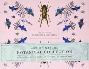 Art Of Nature: Botanical Card Portfolio Set (Set Of 20 Cards) by Various