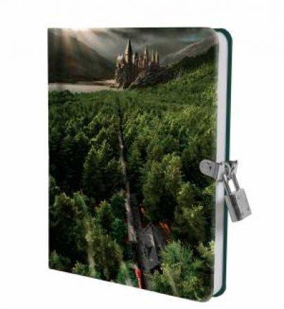 Harry Potter: Hogwarts Express Lock & Key Diary by Various