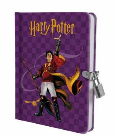 Harry Potter: Quidditch Lock & Key Diary by Various