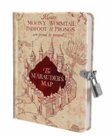 Harry Potter: Marauder's Map Lock & Key Diary by Various