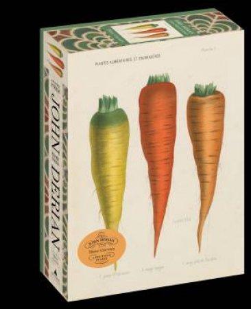 John Derian Paper Goods: Three Carrots 1,000-Piece Puzzle