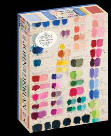 John Derian Paper Goods: Painter's Palette 1,000-Piece Puzzle by John Derian