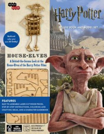 Harry Potter: House-Elves Deluxe Book And Model Set
