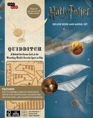 Harry Potter: Quidditch Deluxe Book and Model Set by Jody Revenson
