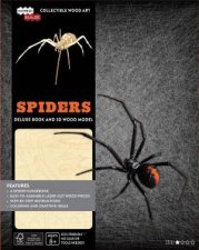 Incredibuilds: Spiders Deluxe Book And Model Set by Insight Editions