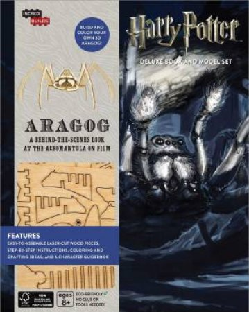Harry Potter: Aragog Deluxe Book and Model Set by Jody Revenson