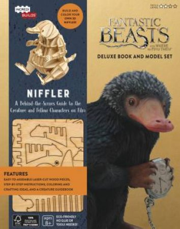 IncrediBuilds: Fantastic Beasts And Where To Find Them: Niffler Deluxe Book And Model Set by Various