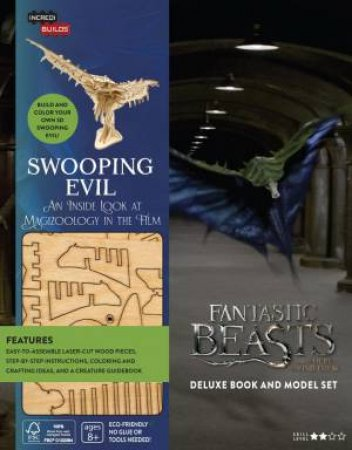 IncrediBuilds: Fantastic Beasts And Where To Find Them: Swooping Evil Deluxe Book And Model Set by Various