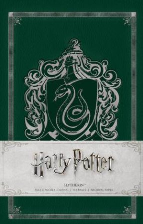 Harry Potter: Slytherin Hardcover Ruled Pocket Journal by Insight Editions