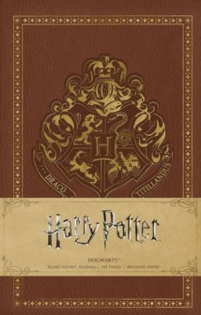 Harry Potter: Hogwarts Hardcover Ruled Notebook by Insight Editions