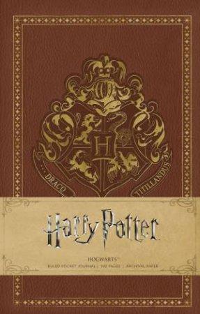 Harry Potter: Hogwarts Hardcover Ruled Notebook