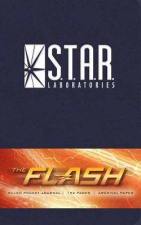 Flash: S.T.A.R. Labs Ruled Pocket Journal by Insight Editions