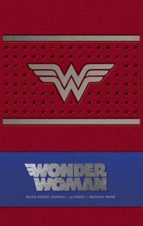 Wonder Woman Ruled Pocket Journal by Daniel Wallace