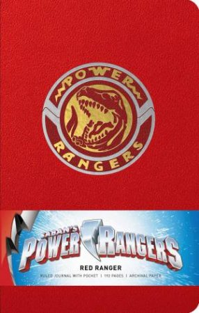 Power Rangers: Red Ranger Hardcover Ruled Journal by Insight Editions